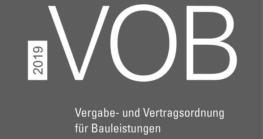 VOB/A ist Teil der VOB