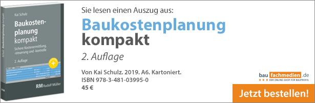 DIN 276 Baukostenplanung kompakt Leseprobe